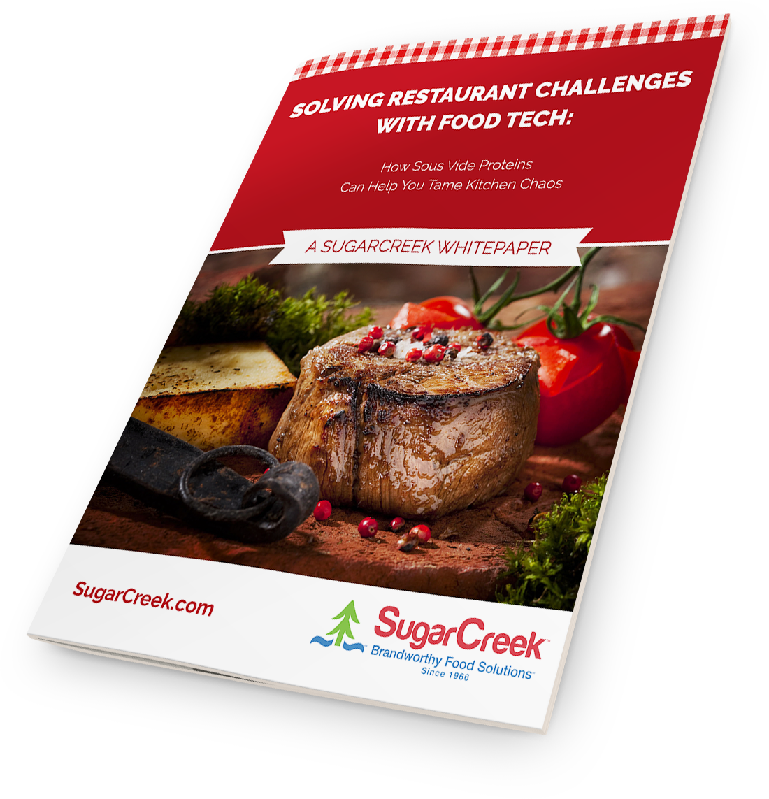 Solving Restaurant Challenges with Food Tech: How Sous Vide Proteins Can Help You Tame Kitchen Chaos Whitepaper